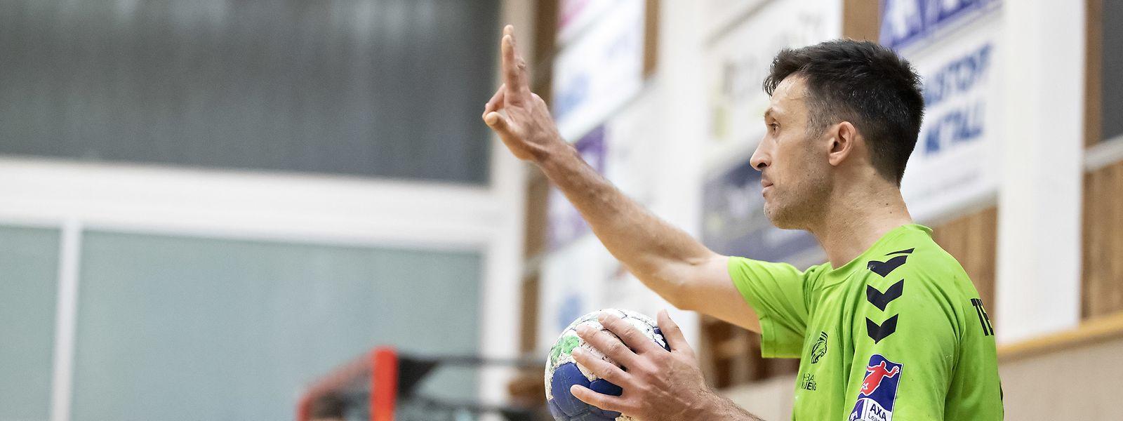 Leistungsträger, Motivator, Dirigent: Vladimir Temelkov ist aus der Käerjenger Mannschaft nicht wegzudenken.