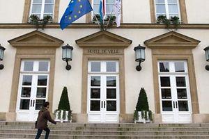 Circuit présentant les maisons de l'Europe à Luxembourg-Ville, Hotel de Ville, le 17 fevrier 2016. Photo: Chris Karaba.