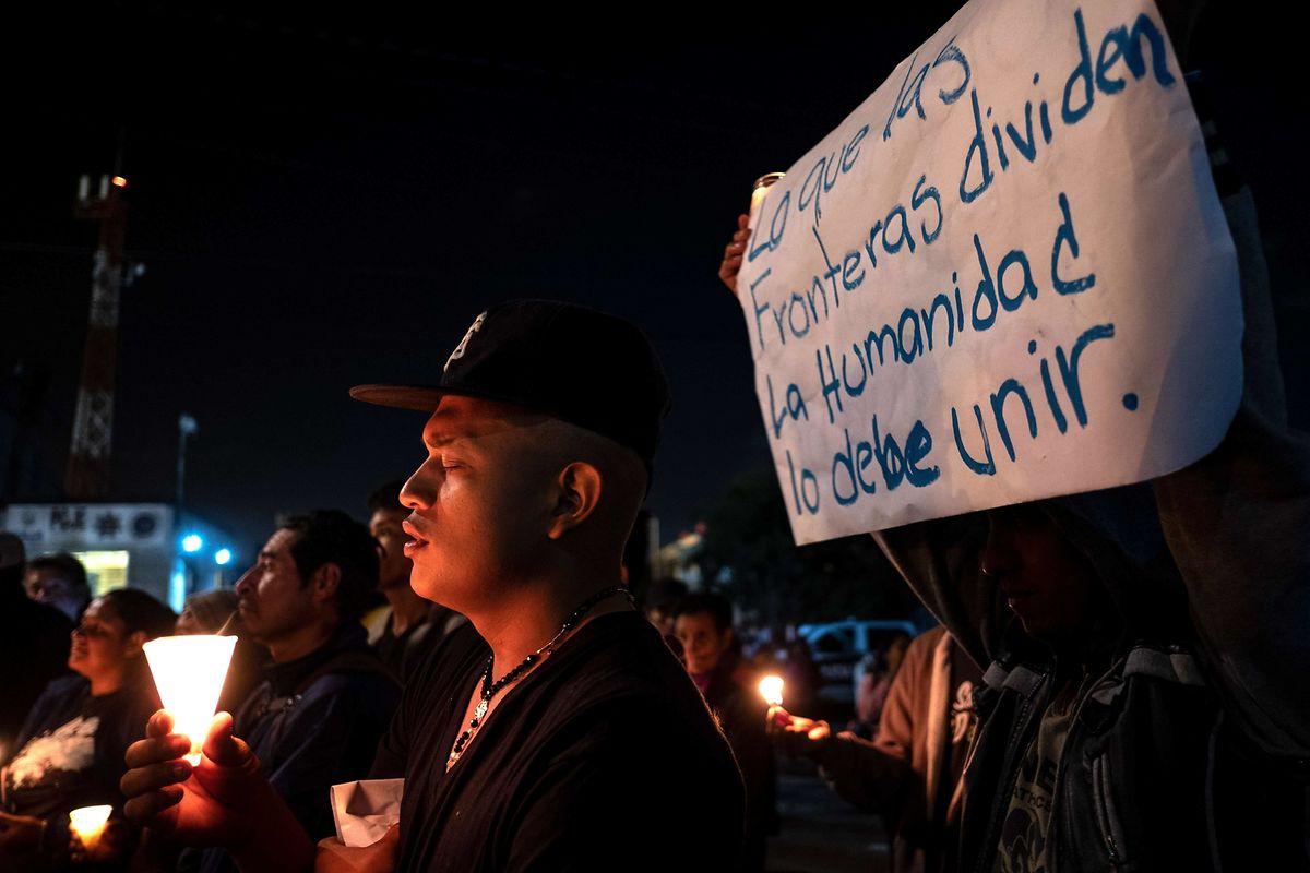 Viele Migranten nahmen auf dem Weg in die USA einen einmonatigen Marsch in Kauf.