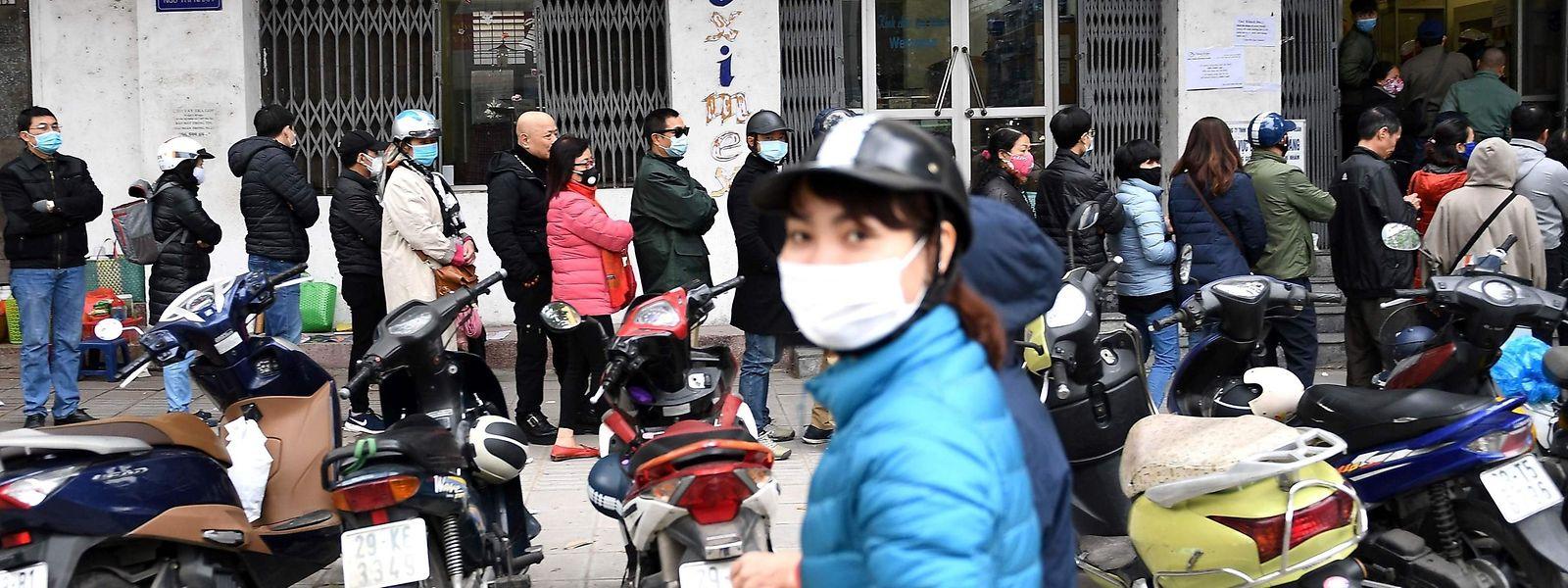 La contamination semble marquer le pas en Chine.