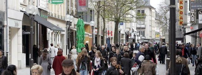 In der Gemeinde Luxemburg lebten 2010 insgesamt 93.865 Menschen.