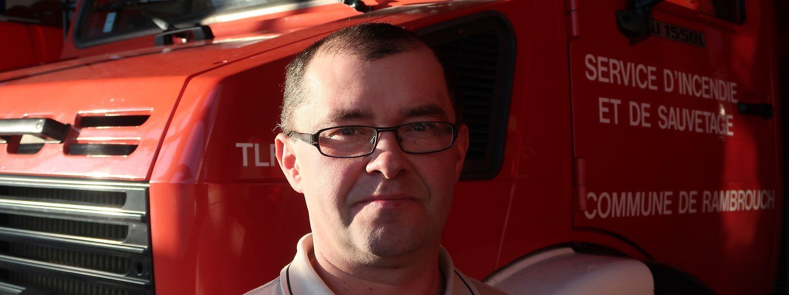 Romain Rausch soll Kommandant werden des neuen Rettungszentrums in Rambrouch