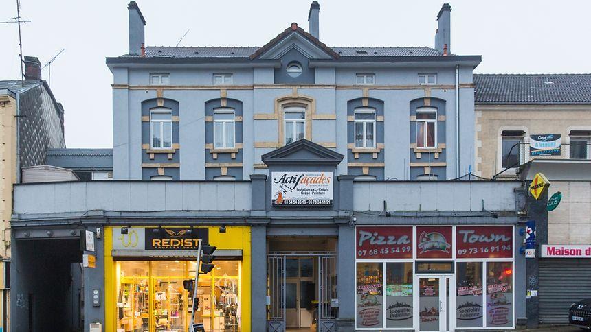 Das Hauptquartier der Bande befand sich in diesem Gebäude in der Nähe des Bahnhofs von Longwy.