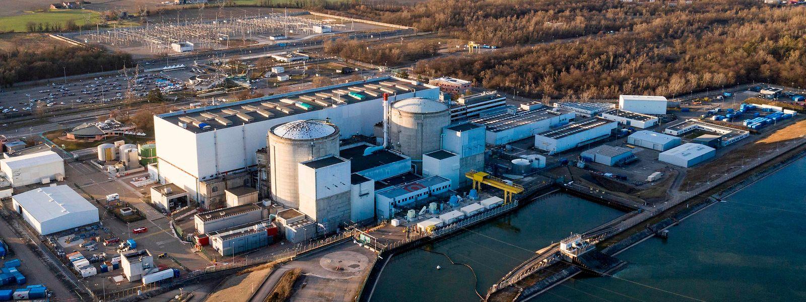 Das Atomkraftwerk Fessenheim in der Nähe der deutsch-französischen Grenze.