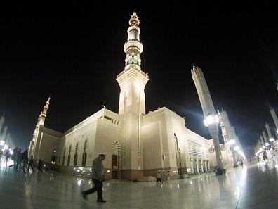 Im Juli 2016 hatte sich ein Mann vor der Prophetenmoschee in Medina in die Luft gesprengt.