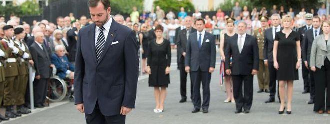 O grão-duque herdeiro representou os soberanos nesta cerimónia