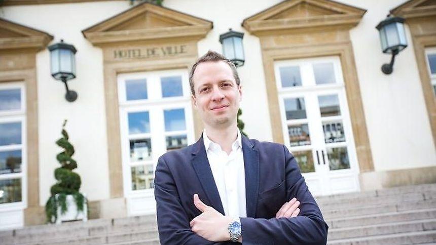 Serge Wilmes, 1er échevin de la Ville de Luxembourg