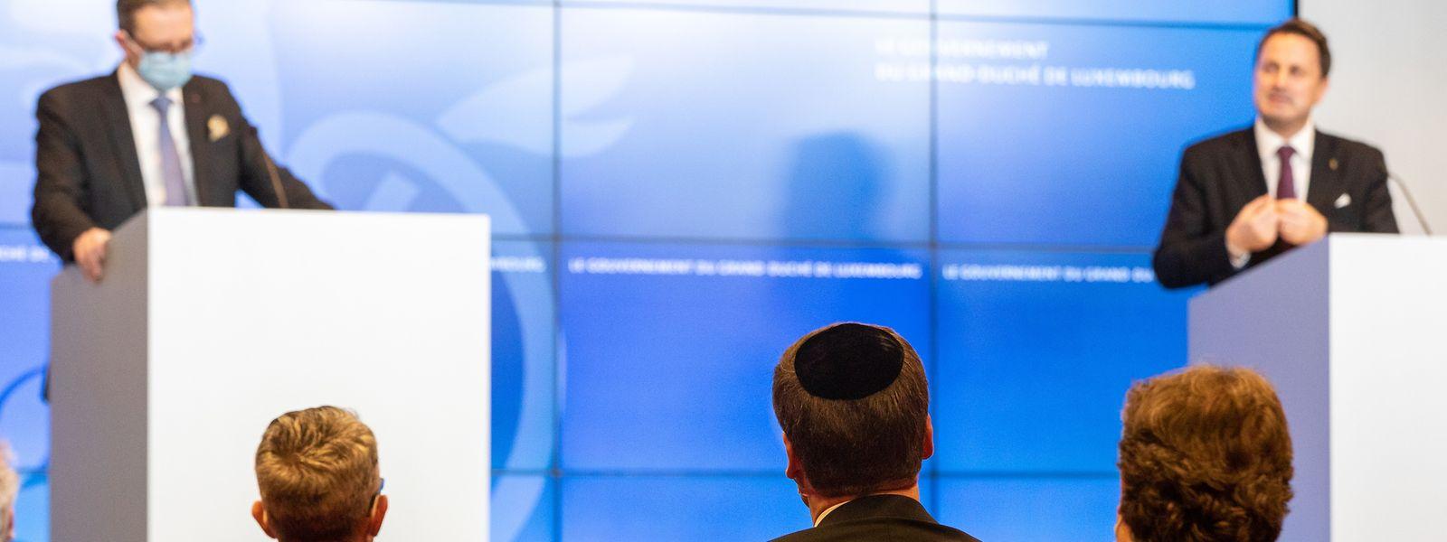 Parmi les éléments de l'accord signé mercredi par le gouvernement et les représentants de la communauté juive figure la mise en place d'une stratégie nationale de lutte contre l'antisémitisme.