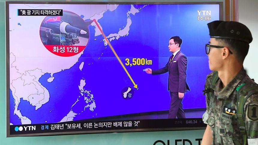 Agentur: Nordkorea erwägt Raketenangriff auf US-Insel Guam