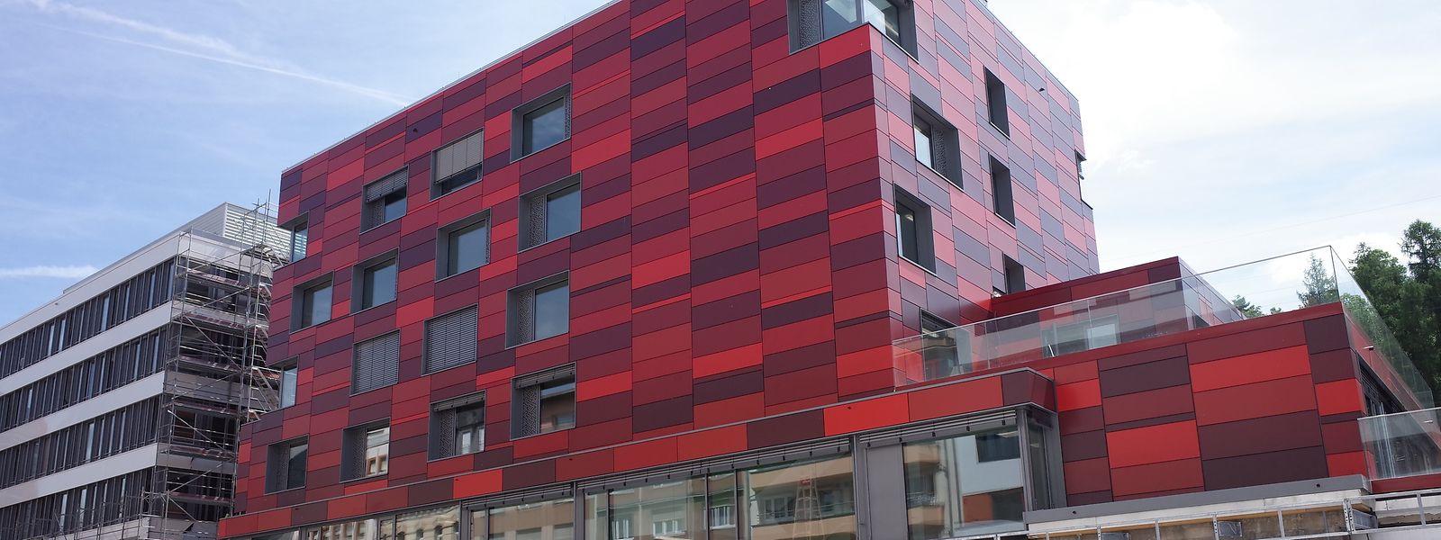 Es werden noch mehr Übernachtungsmöglichkeiten in Luxemburg geschaffen. Hier die neue Jugendherberge in Esch/Alzette.