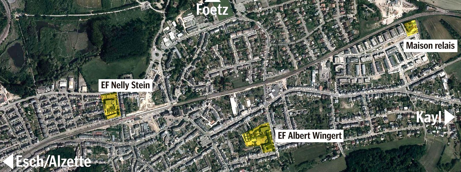 Die drei Schulstandorte in Schifflingen, Albert Wingert, Nelly Stein und Lydie Schmit waren bis Dienstag aufgrund der Infektionslage von der Verlängerung des Heimunterrichts betroffen.