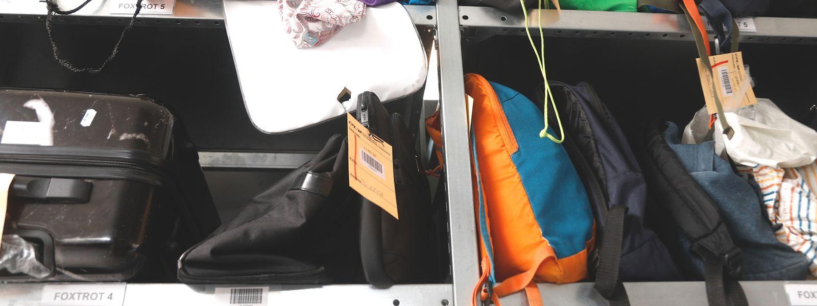 Les sacs à dos, chapeaux et autres blousons restent dans les locaux des CFL pendant deux mois.