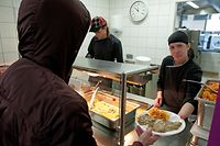 Stëmm vun der Strooss, Les restaurants sociaux de la Stëmm (Foto: Alain Piron)