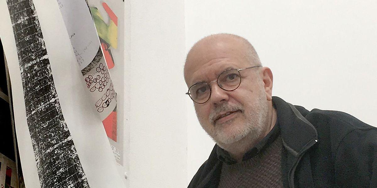 A exposição de Pedro Calapez vai estar no Centro Cultural Português do Luxemburgo de 1 de fevereiro a de 9 de abril.