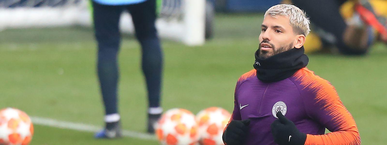 Manchester Citys Torjäger Sergio Agüero soll im Rückspiel gegen Tottenham für die nötigen Tore sorgen.