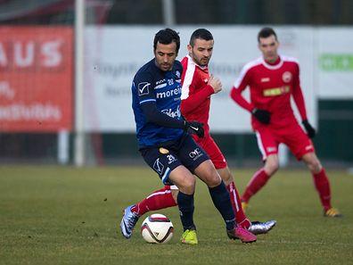 Viana Marques Antonio Manuel / Rizvani Denis / Promotion Honneur FC Mamer 32 - US Esch-Alzette / 25.02.2017 / Photo: Julien Ramos / Imagify.lu