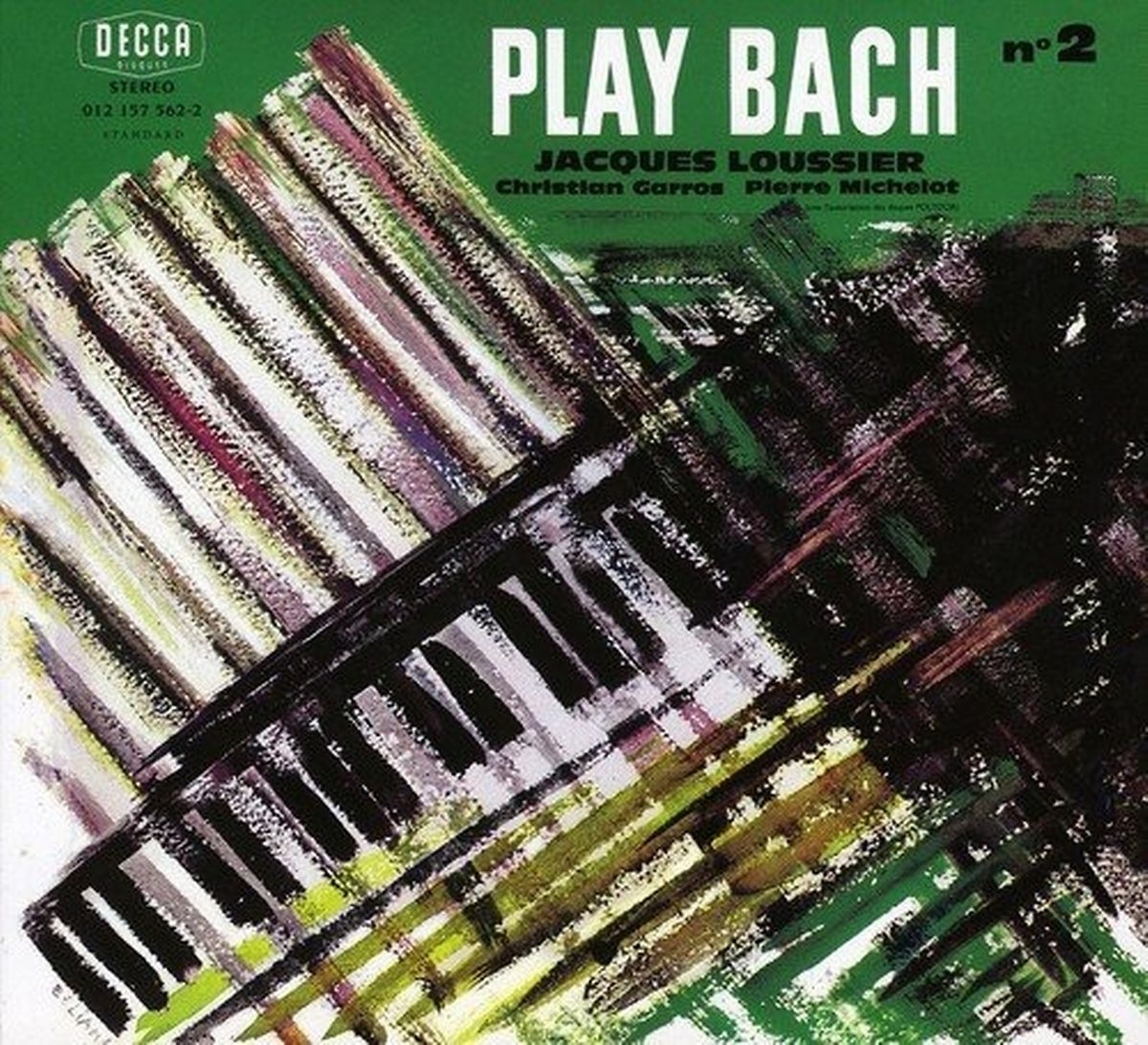 """Zeitkolorit: Die Covergestaltung der """"Play Bach"""" - Reihe atmet den Geist der späten 1950er."""