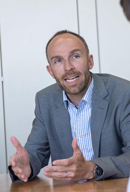 Guy Entringer ist seit 2008 Direktor der SNHBM.