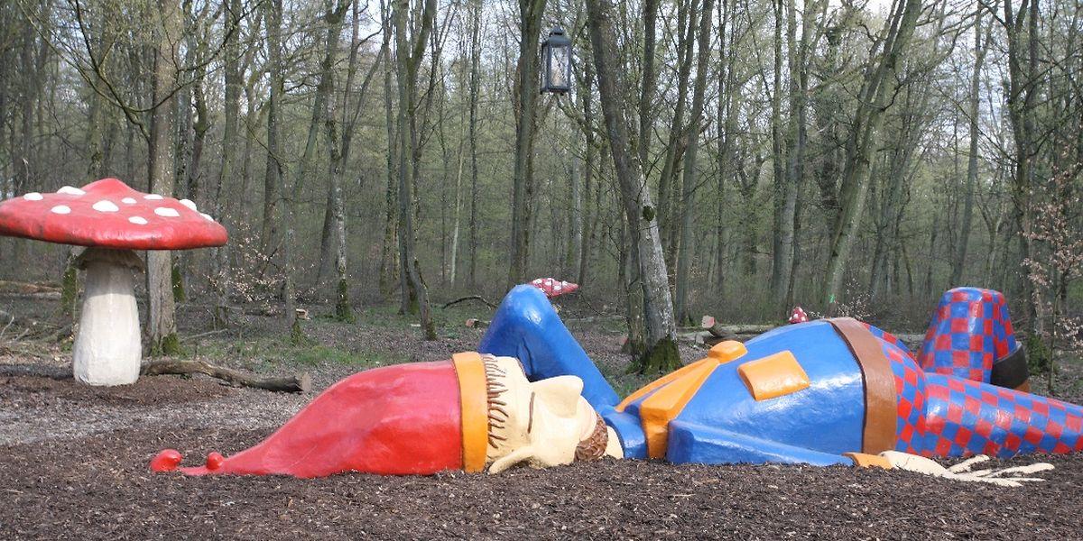Der schlafende Riese ist zu einem Wahrzeichen des Parks geworden.