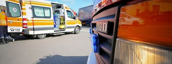 Les cinq occupants de la voiture accidentée ont été pris en charge par les pompiers de Bettembourg.