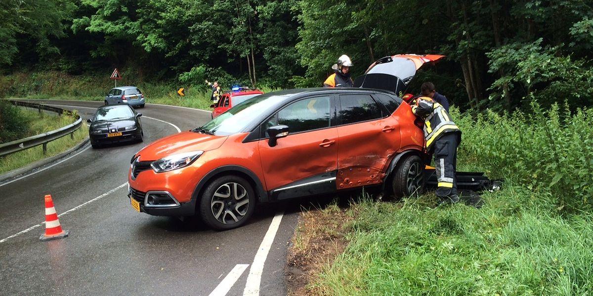 Bei diesem Unfall in der Fels wurde eine Person verletzt.