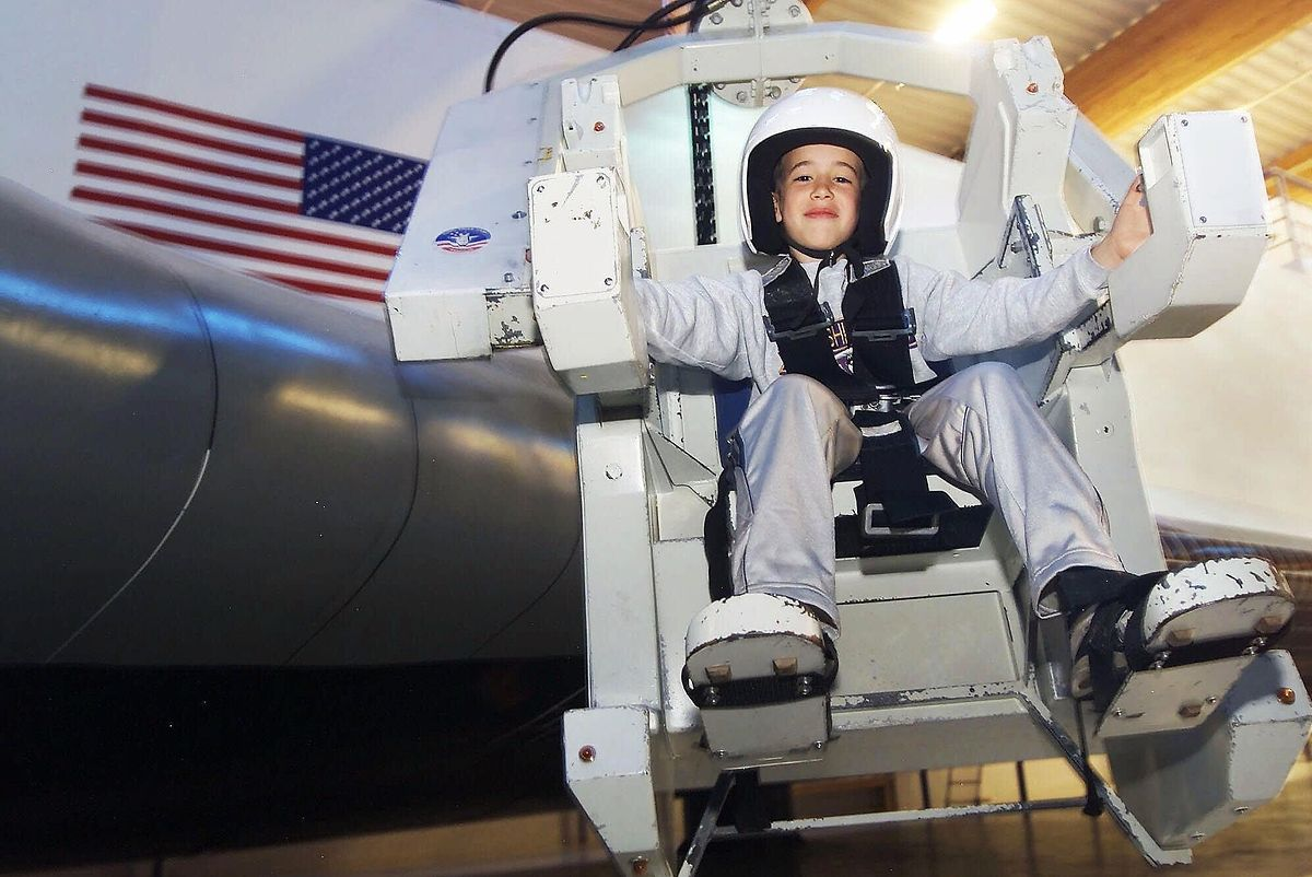 Newly refurbished and now incorporating a zero gravity and freefall simulator