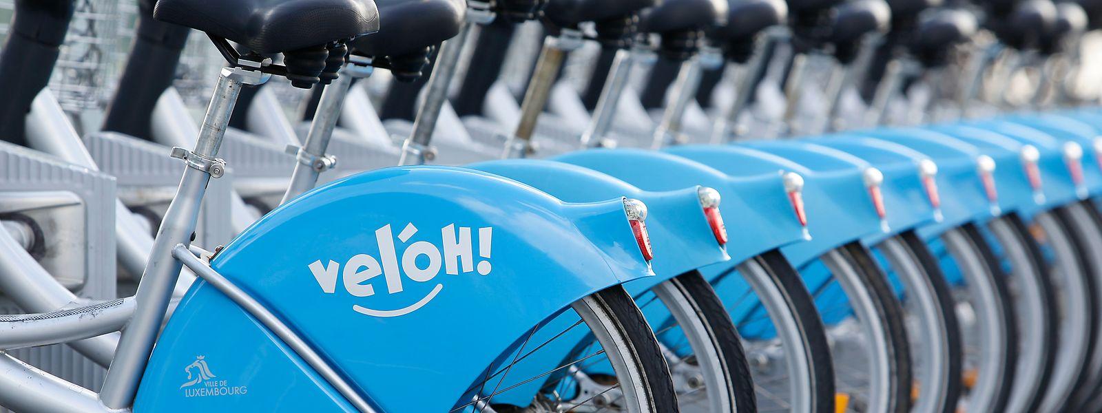 Le parc de vélos électriques sera quasiment au complet une fois que les pièces de rechange seront arrivées à Luxembourg.