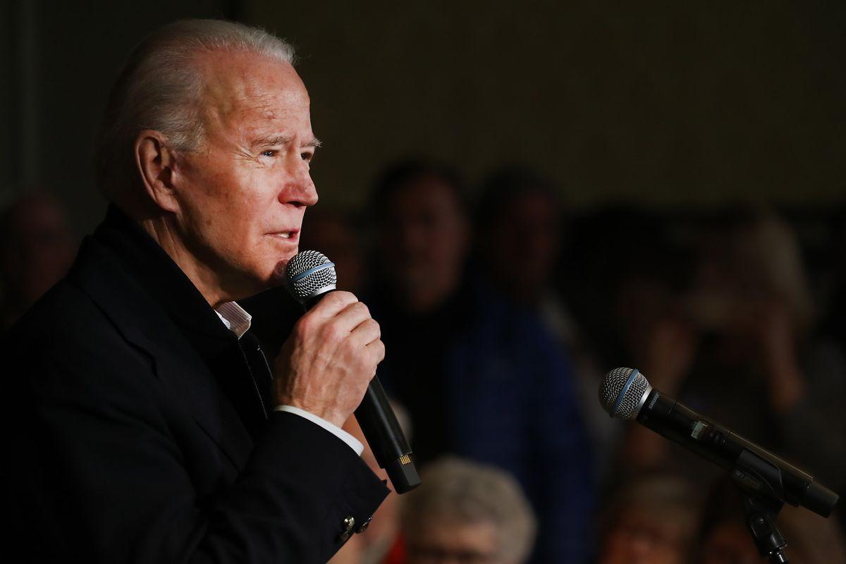 Der frühere Vizepräsident Joe Biden liegt in Iowa mit 15,8 Prozent derzeit auf Platz vier.