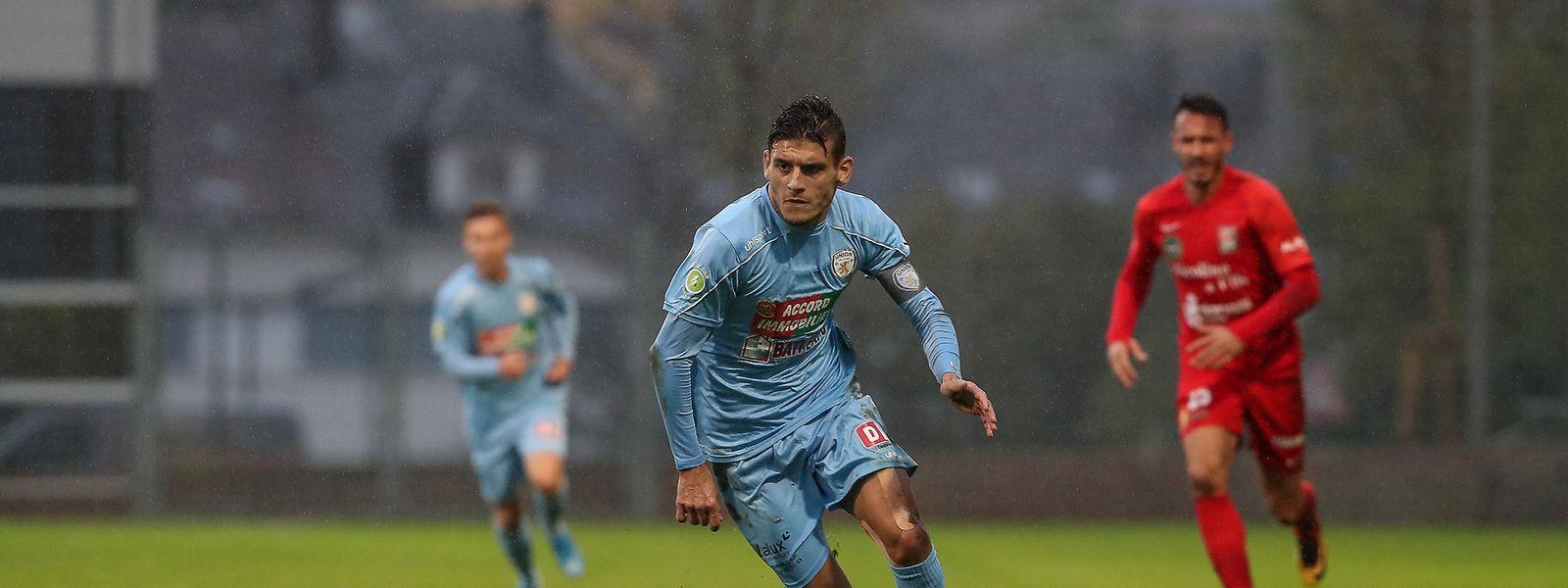 Artur Abreu, six buts en sept sorties. Le Pétangeois a rejoint Françoise et Boakye, auteur d'un doublé dimanche.