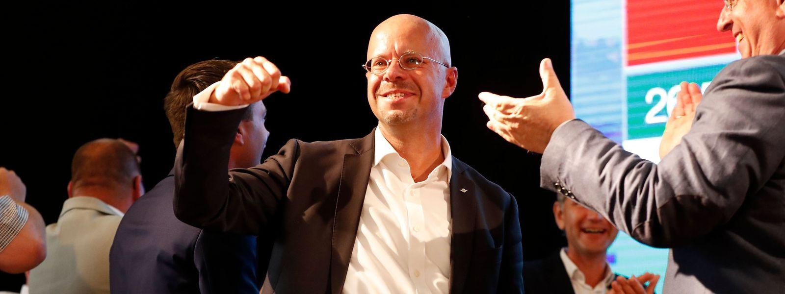 Andreas Kalbitz, candidat de l'AfD pour le Brandebourg, peut être satisfait du score de son parti. Même si l'extrême droite n'a remporté aucun des deux scrutins régionaux.