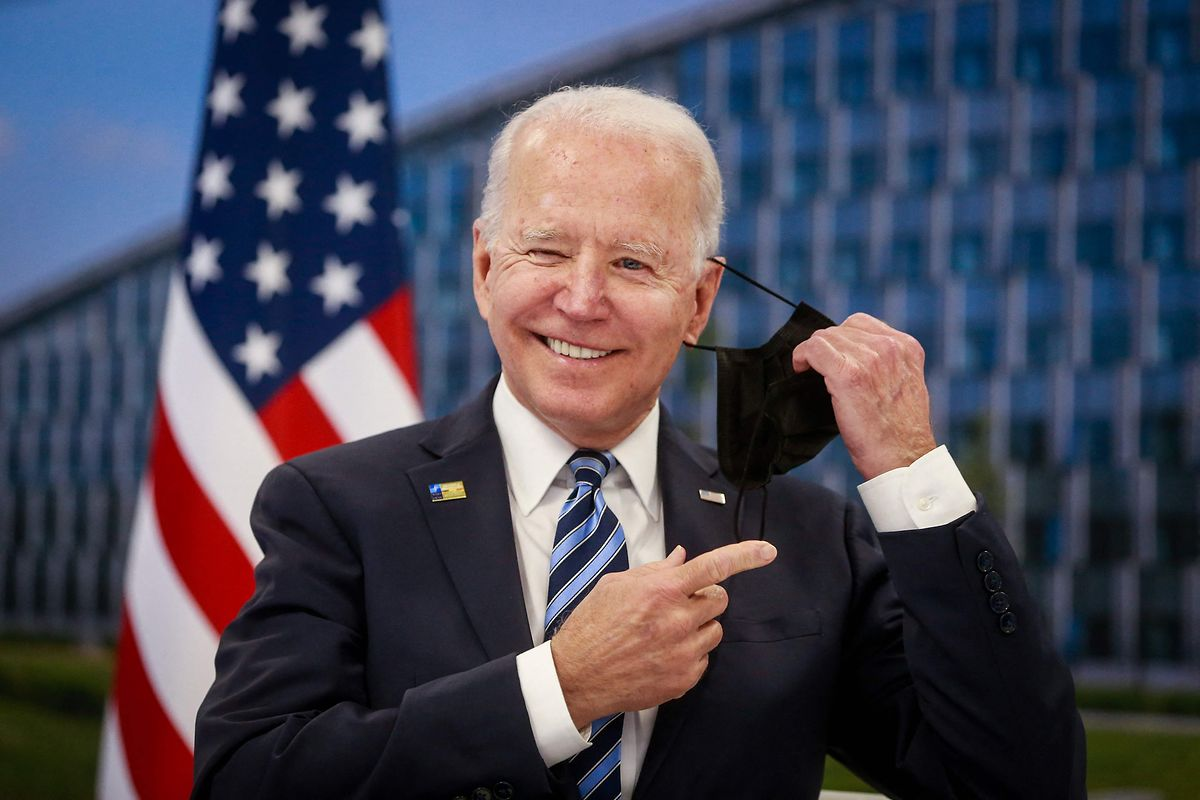 """""""Die Vereinigten Staaten sind da"""", mit dieser Aussage begeisterte Joe Biden Nato-Generalsekretär Jens Stoltenberg."""