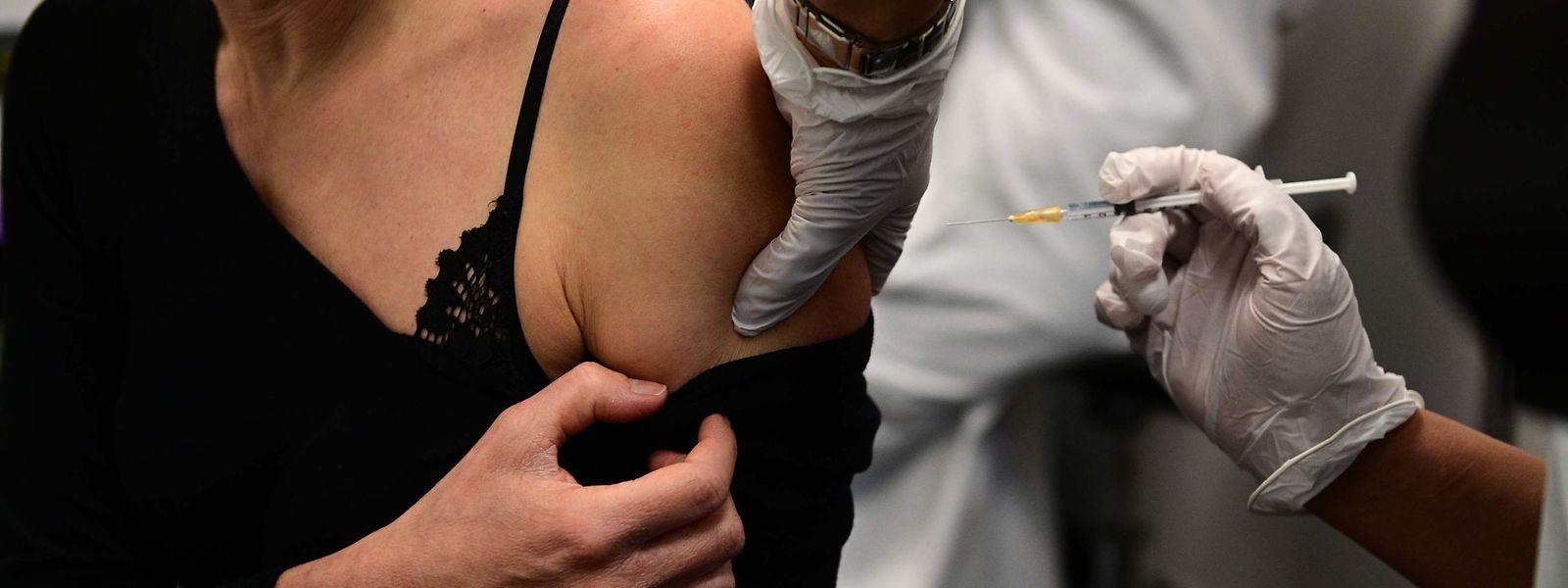 Frankreich kommt beim Impfen nicht aus den Puschen.