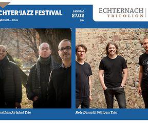 Echter'Jazz Festival: A Night with...Trios