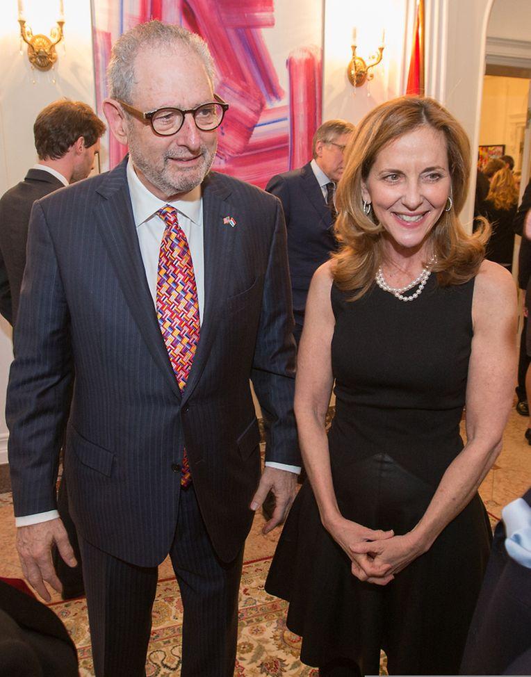 US-Botschafter Robert A. Mandell mit seiner Frau Julie.
