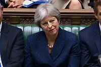 Die britische Premierministerin Theresa May ist stark in Bedrängnis geraten.