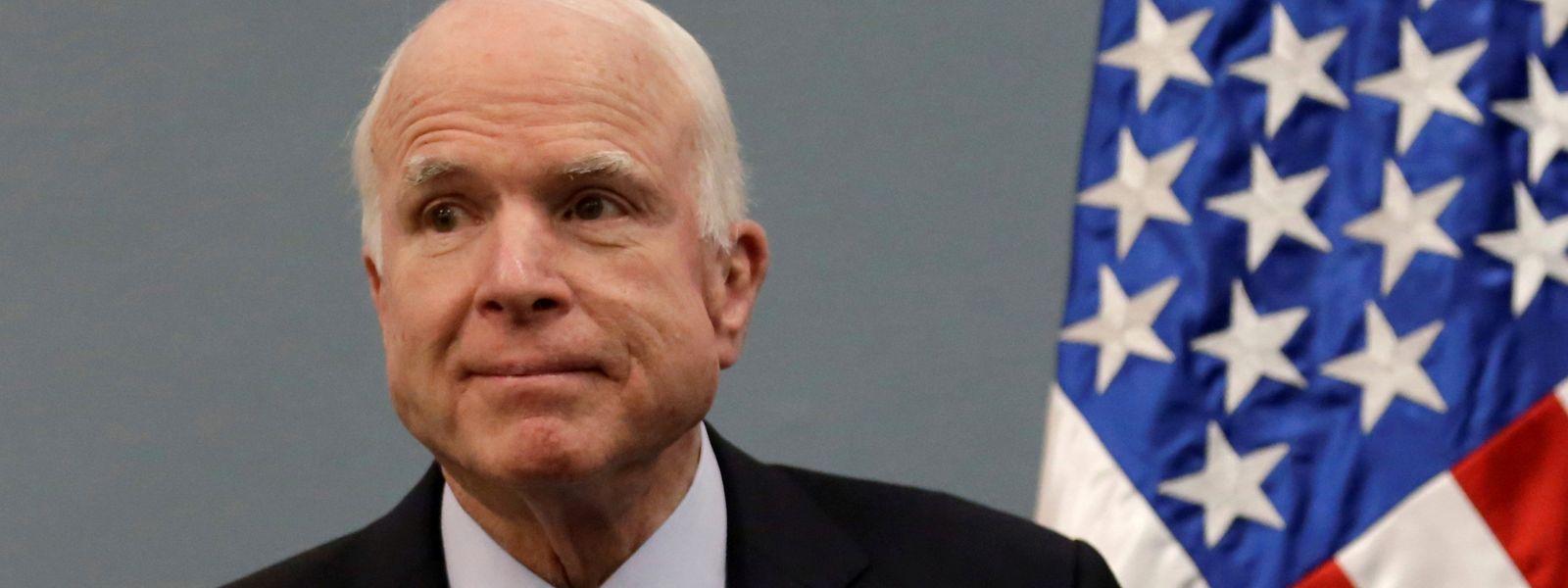 John McCain gilt als einer der heftigsten Kritiker Trumps innerhalb der republikanischen Partei.