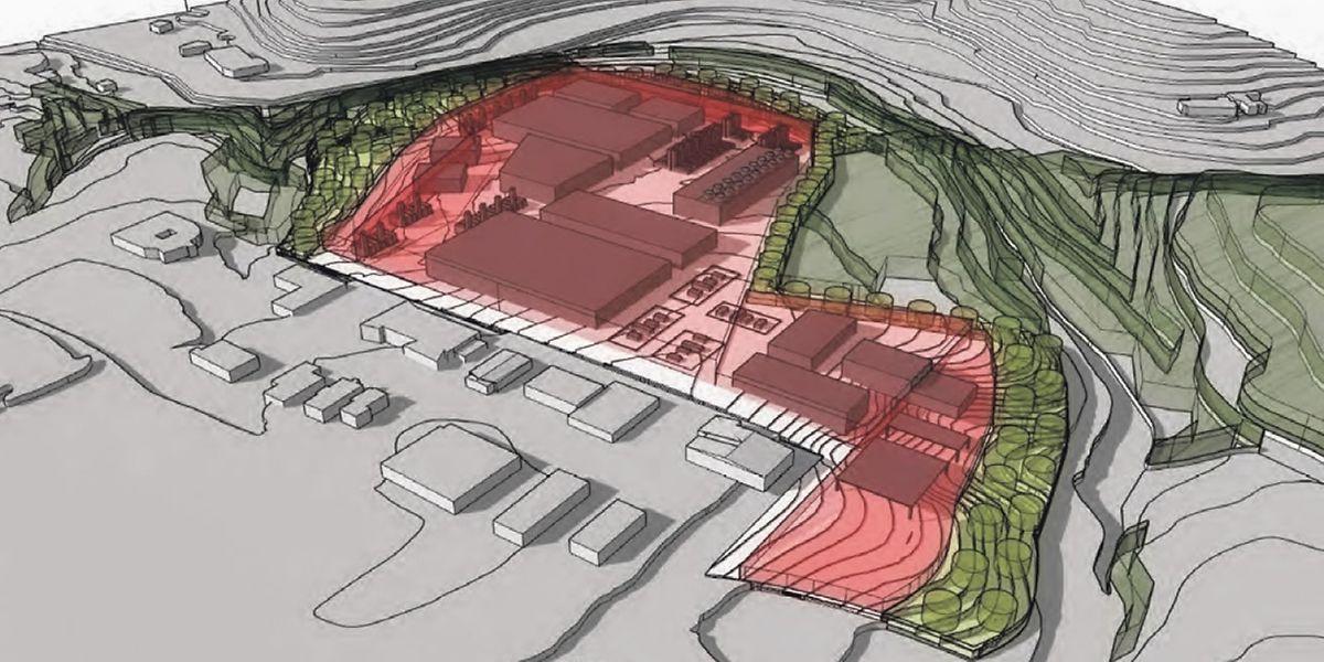 So in etwa soll das künftige Datenzenter in Bissen aussehen.