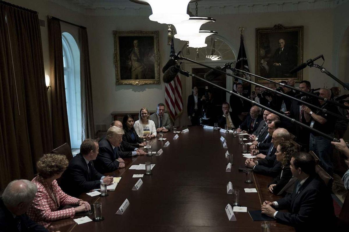 Bei dem Gespräch konnte man Einigungen in wichtigen Fragen erzielen.