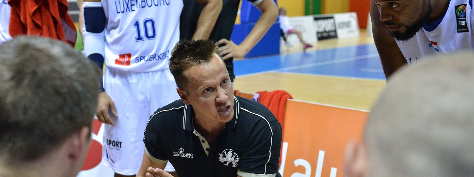 Der Luxemburger Trainer Ken Diederich hat sein Team richtig eingestellt.