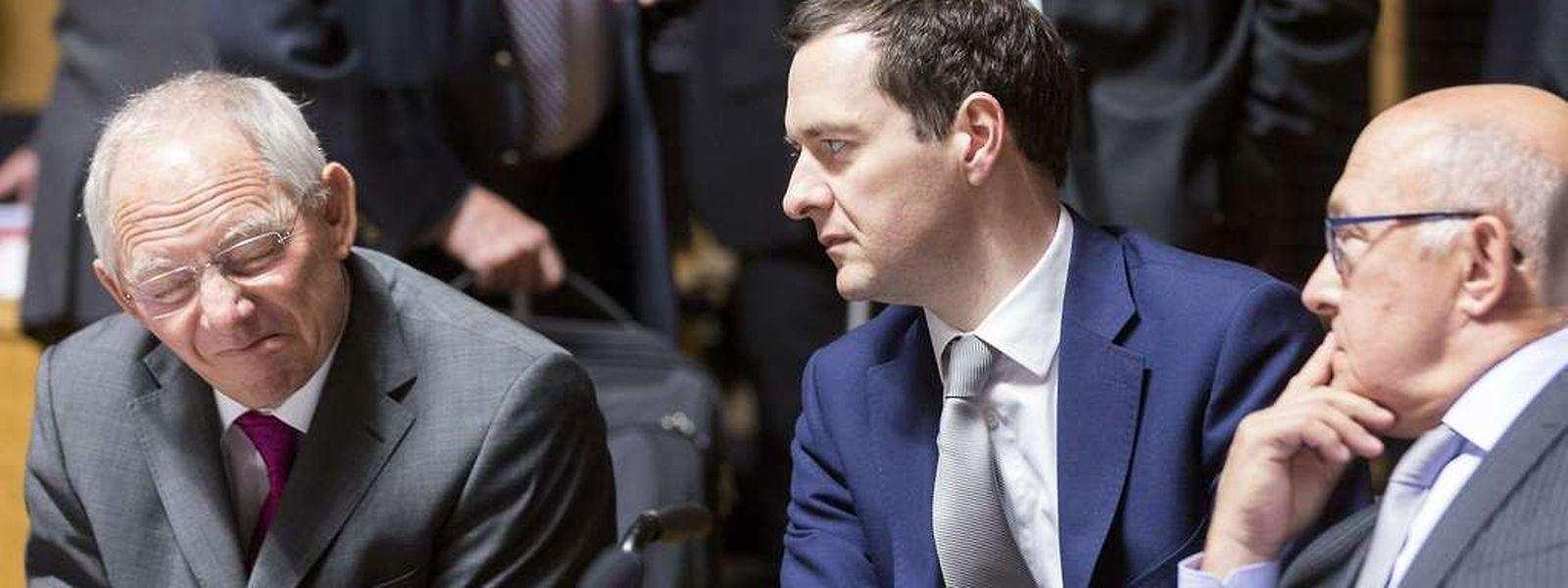 Les ministres des Finances de l'UE ont adopté vendredi une position commune sur le projet européen de réforme structurelle des banques. (Photo: AFP)