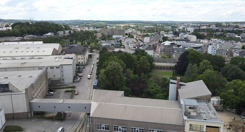 Lokales, PAP Hollerich, Landewyck, Wurth, Securité Sociale, Foto: Chris Karaba/Luxemburger Wort