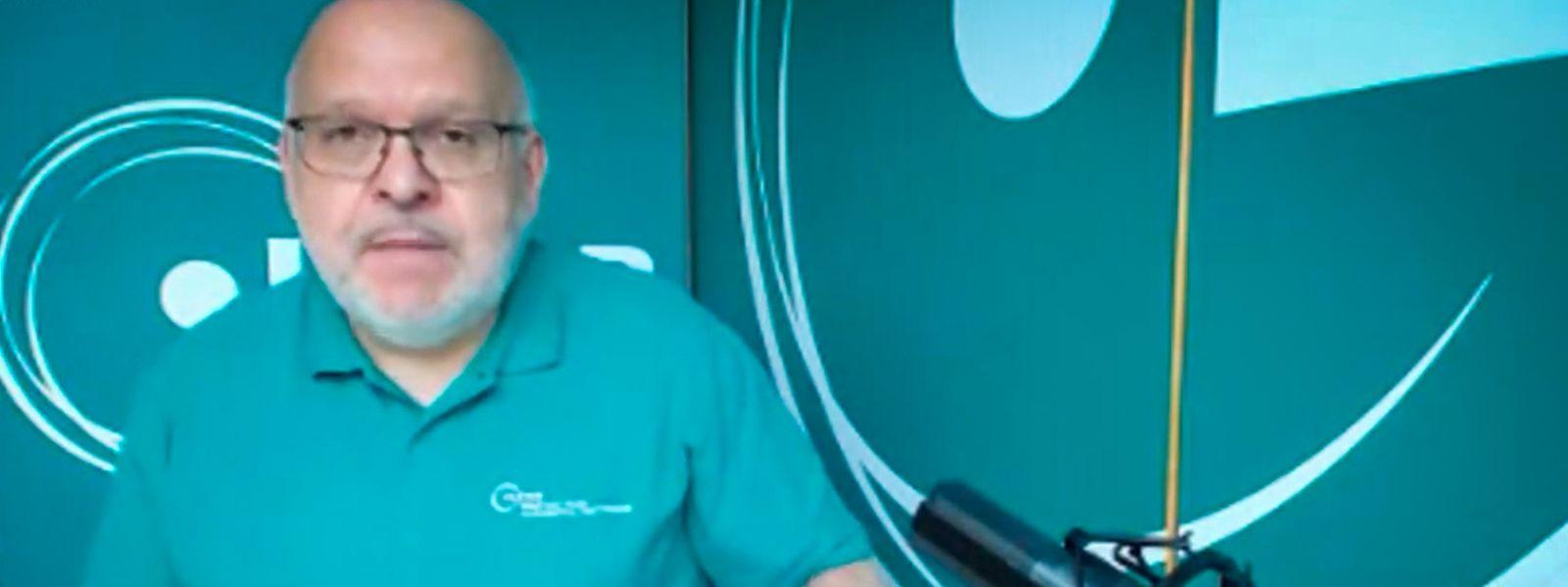 Confinement oblige, c'est en vidéo que Patrick Dury a prononcé vendredi son discours du 1er Mai.