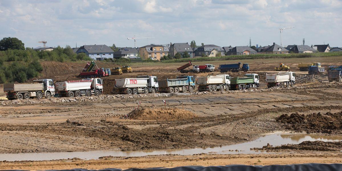 Die Bauschuttdeponie in Strassen ist seit Mai geöffnet.
