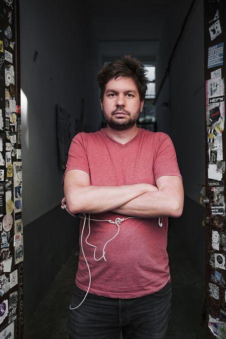 David Vig, diretor da Amnistia Internacional na Hungria