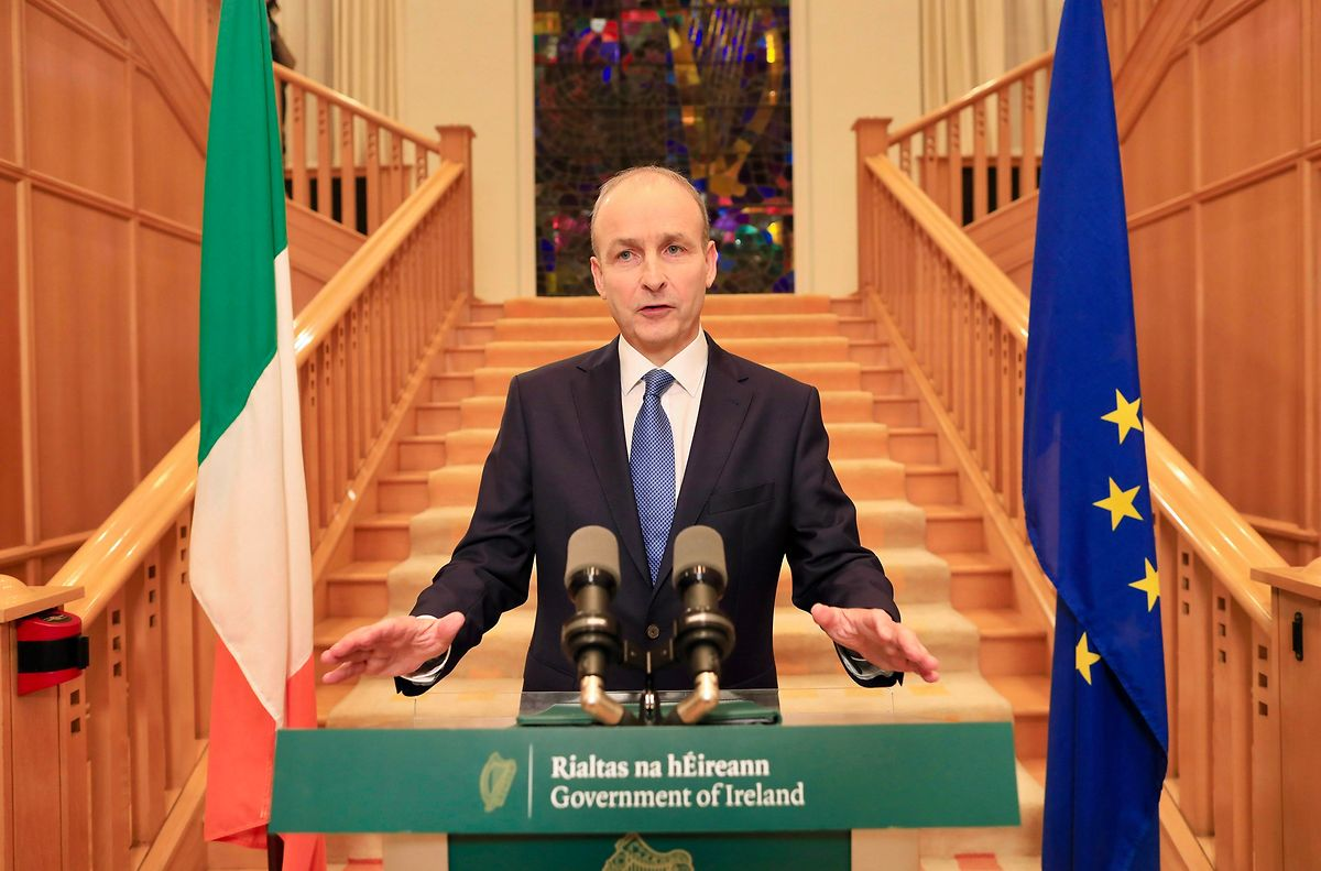 Le Premier ministre irlandais Micheal Martin a dit aux Irlandais que s'ils «unissent leurs efforts pendant les six prochaines semaines, nous aurons l'occasion de célébrer Noël correctement»
