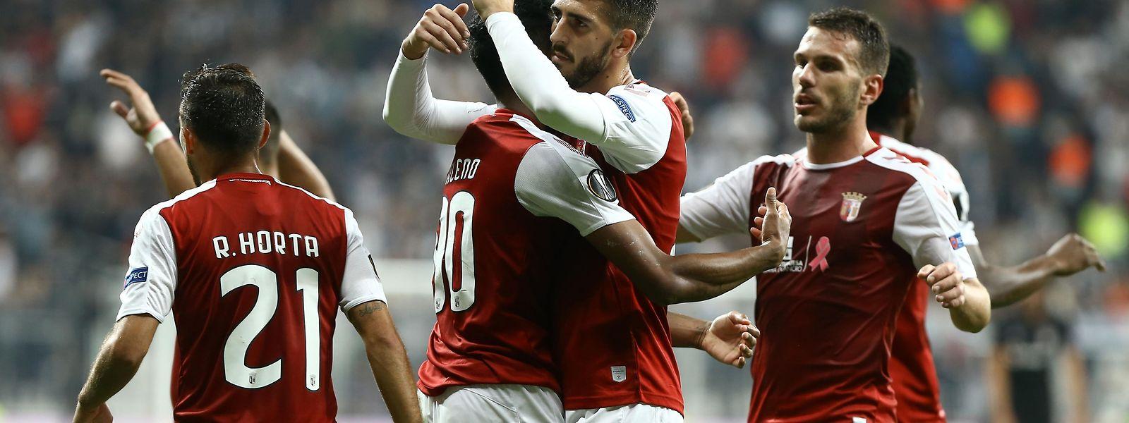 A vitória do Braga na Turquia.