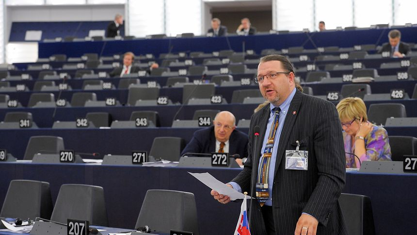 Skripek (heir auf einer Aufnahme im EU-Parlament aus dem Jahr 2015) hat auf die Reise in die USA verzichtet.