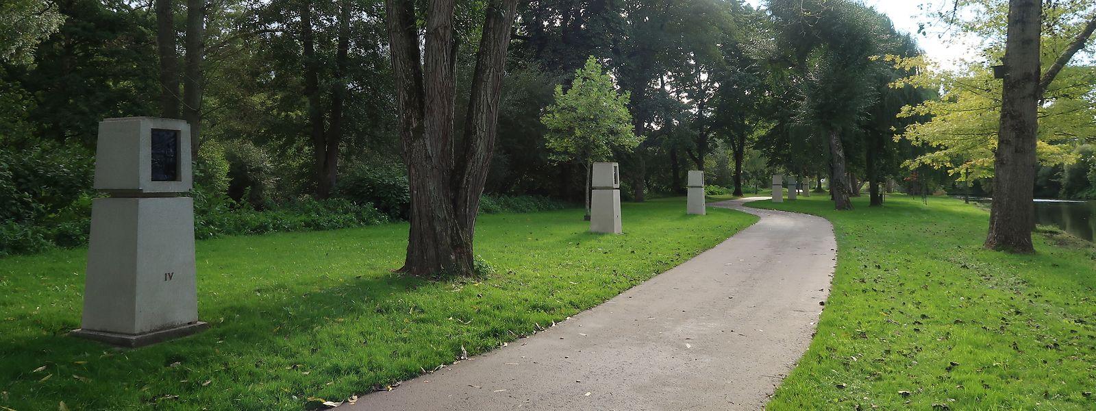 Um an das Schicksal der luxemburgischen Zwangsrekrutierten zu erinnern, wurde 1981 in Diekirch ein Kreuzweg entlang der Sauer angelegt.