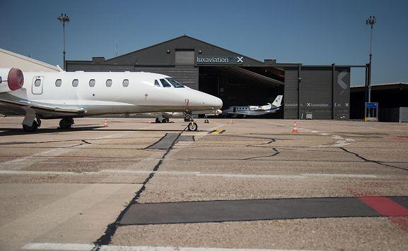 Die Luxaviation-Gruppe hat neben Businessjets und Turboprops schon seit einiger Zeit auch Helikopter in der Flotte.