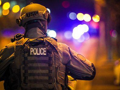 La police a pris les menaces très au sérieux jeudi soir dans le quartier Kirchberg où se trouvent les institutions européennes